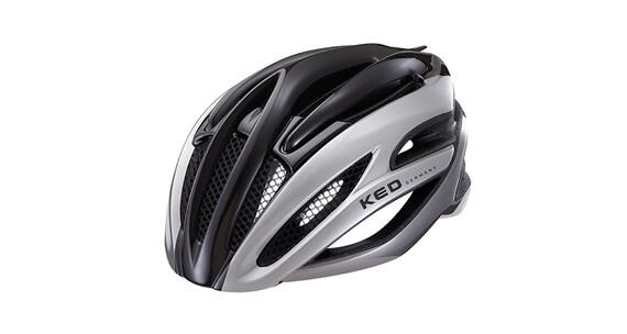 KED Wayron helm zwart/zilver